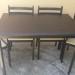 Eladó asztal 4 db székkel