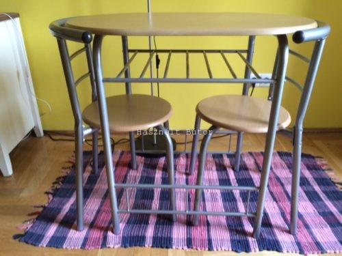 Kika asztal két székkel - Használt bútor