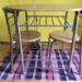Kika asztal két székkel